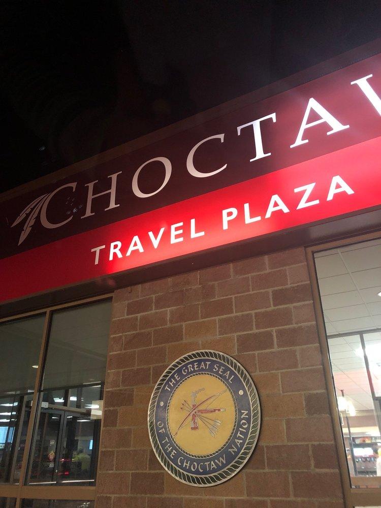 Choctaw Travel Plaza-Stringtown: 897 US-69, Atoka, OK