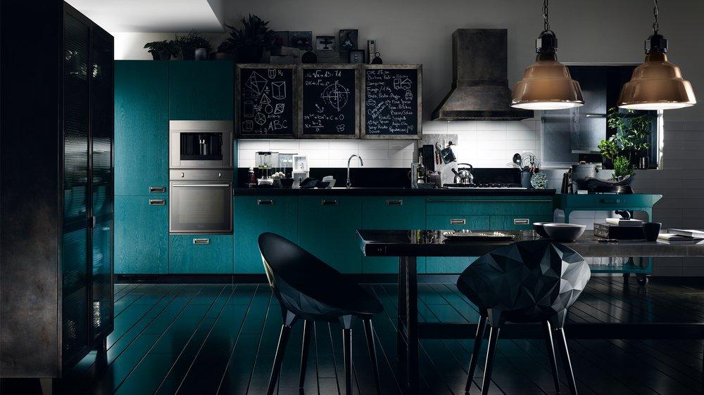 Modern Italian Kitchen - Diesel Social Kitchen - Scavolini - Yelp