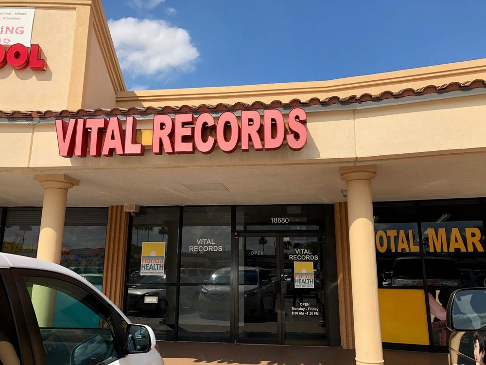 Dade County Vital Records Libraries 18680 Nw 67th Ave Hialeah