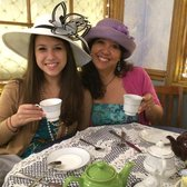 Photo of Olde English Tea Room - Wake Forest, NC, United States. Love all the hats that you can dress up in!