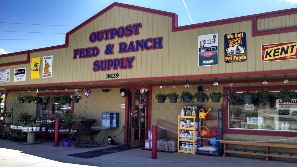 Outpost Feed & Ranch Supply: 18129 County Rd 1, Florissant, CO