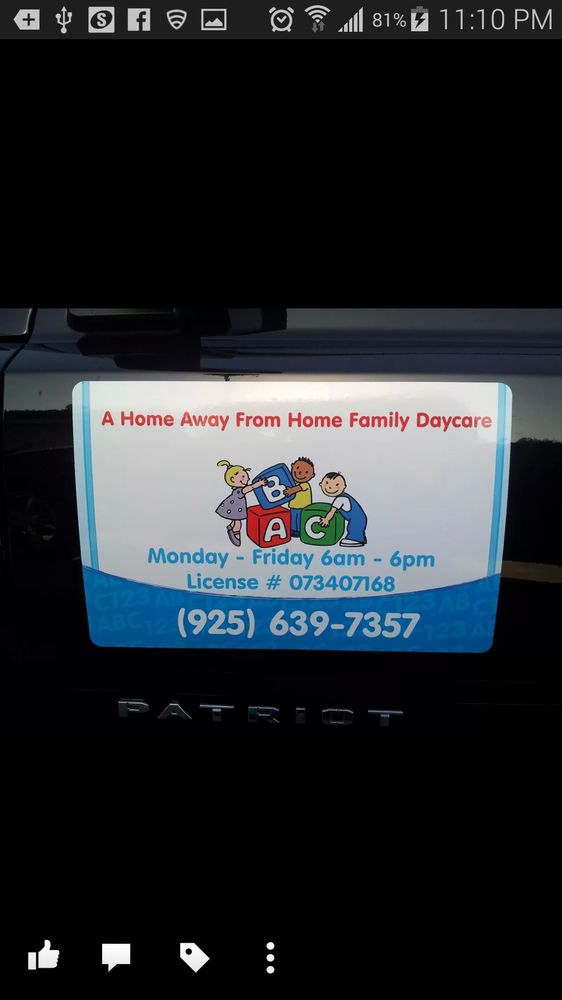 A Home Away From Home Daycare: 1213 Putnam St, Antioch, CA