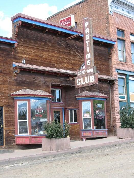 Leadville S Historic Pastime Bar Cafe