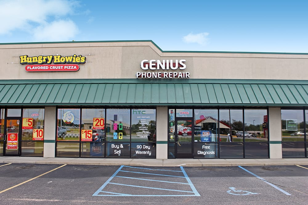 Genius Phone Repair: 1400 N Wayne St, Angola, IN