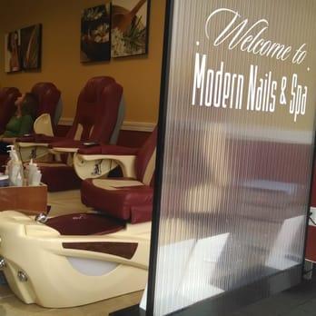 Modern nails spa 10 reviews nail salons 1449 - Burlington nail salons ...