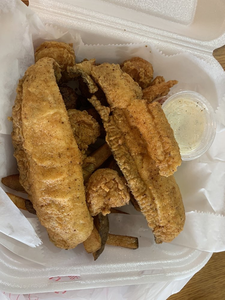 Food from Big T's Fry Fish