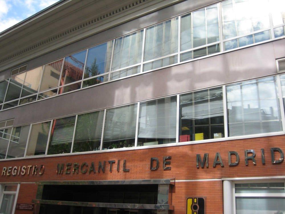 Registro Mercantil Central - Publicidad - Paseo de la