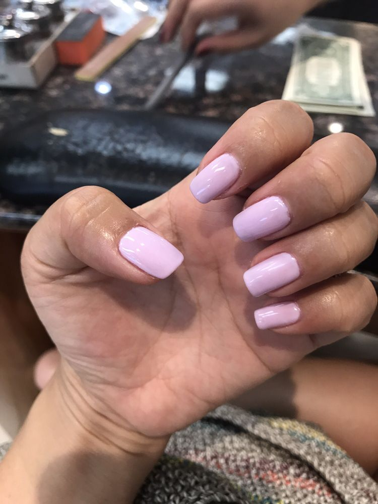 Nina did good! This gel polish changes colors in heat/cold temps! - Yelp