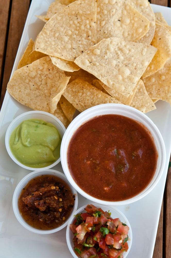 photo of backyard taco mesa az united states chips salsa