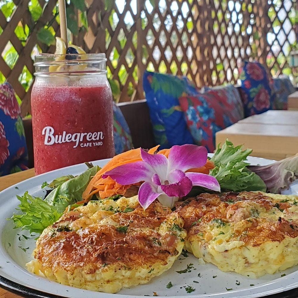 Bulegreen Cafe Yard