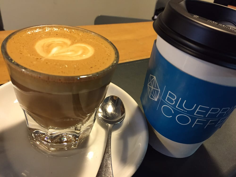 Cortado and togo chai yelp photo of blueprint coffee saint louis mo united states cortado and togo malvernweather Image collections