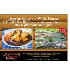 Log Cabin Tavern: 201 Rabbit Lake Road, Kenora, ON