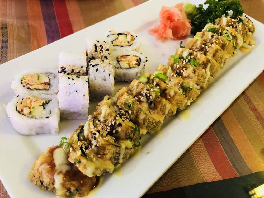 Rain Japanese Sushi Bar & Thai: 5267 Park St N, St. Petersburg, FL