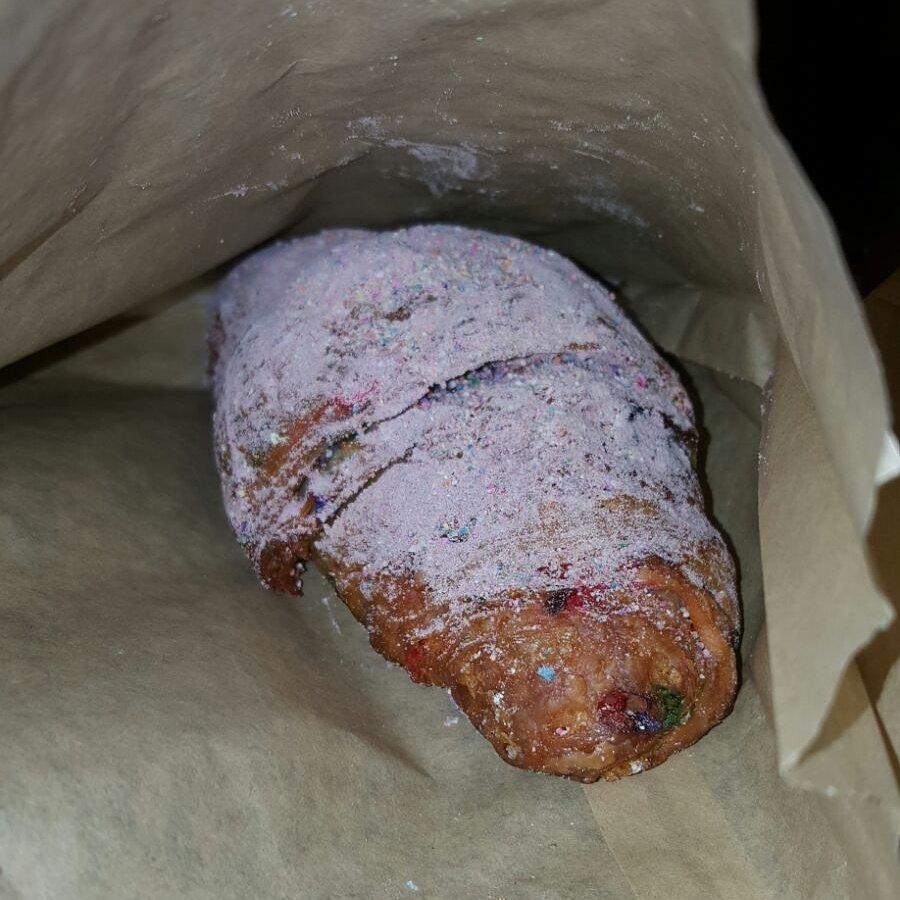 Birthday Cake Croissant!