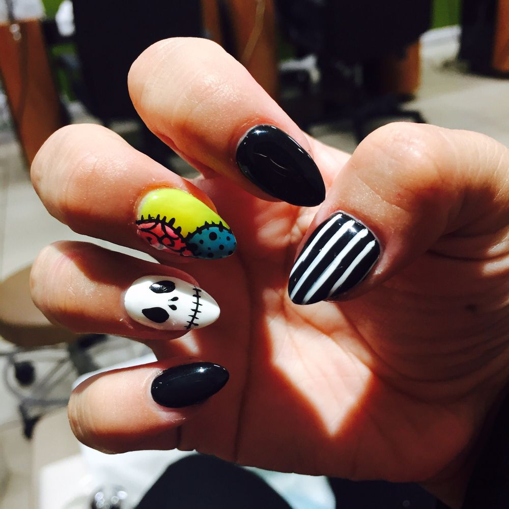 photo of nails by julia bakersfield ca united states the nightmare before