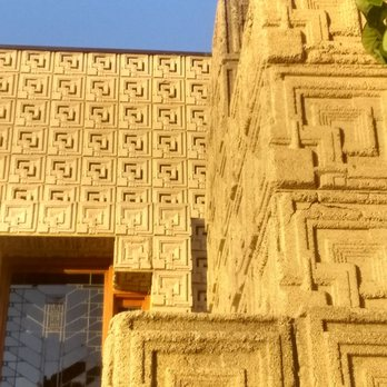 Frank Lloyd Wright's Ennis House - 2655 Glendower Ave, Los