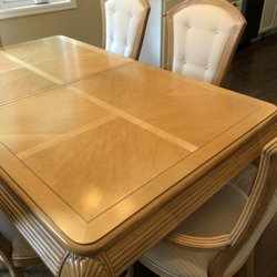 Exceptionnel Photo Of Niola Furniture Upholstery Service   Minneapolis, MN, United  States. Table Top. Table Top Refinishing Completed