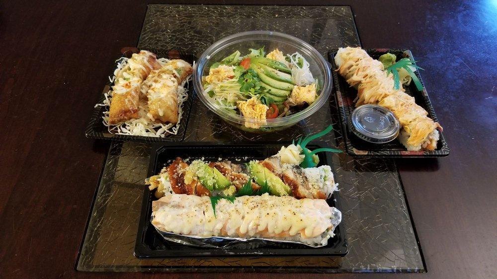 Hamachi Sushi Express: 1211 E La Habra Blvd, La Habra, CA