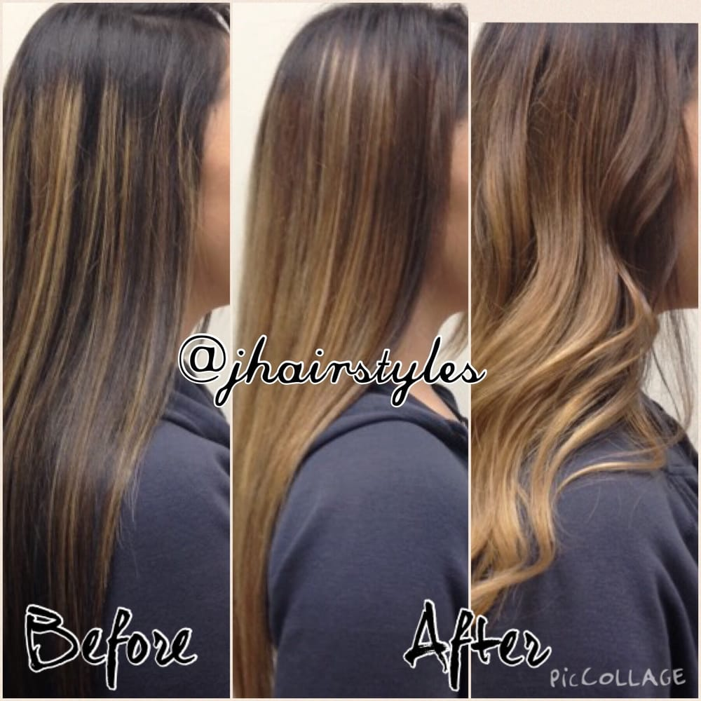 Another Before And After From An Outgrown Partial Highlight To A