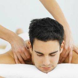 Asian male massage