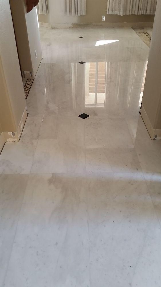Calacatta Marble Floor Installation Yelp