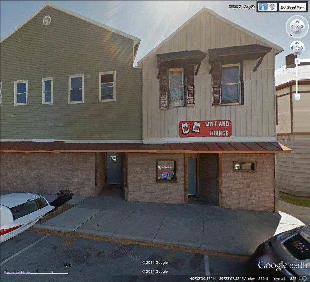 C & C Loft and Lounge: 223 E Spring St, Saint Marys, OH