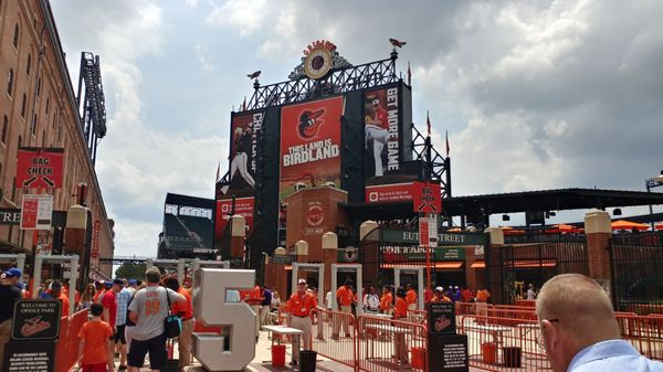 Baltimore Orioles Stadium Map Oriole Park at Camden Yards 333 W Camden St Baltimore, MD Bars