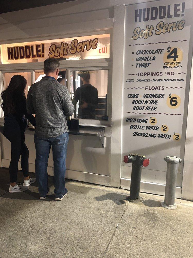 Huddle Soft Serve: 2 John R St, Detroit, MI