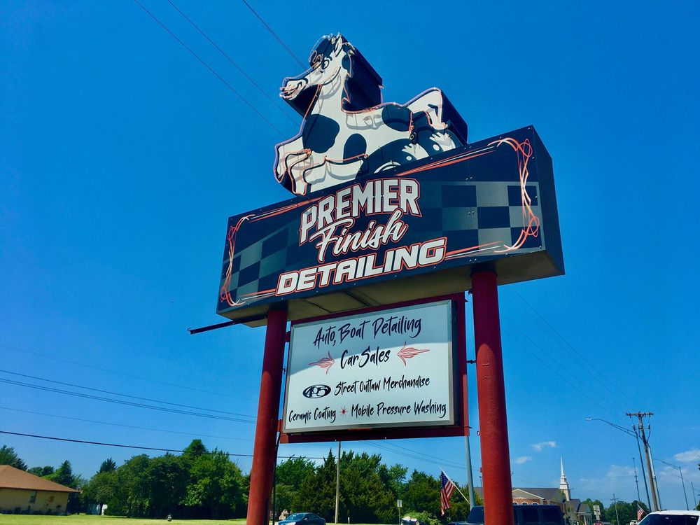 Premier Finish: 1001 W State Highway 152, Mustang, OK