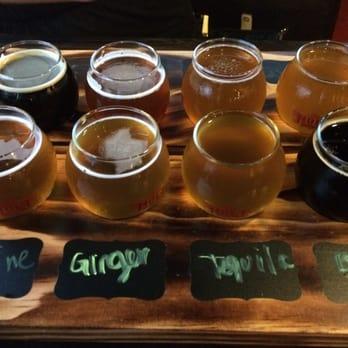 Nola Brewing Tap Room Menu