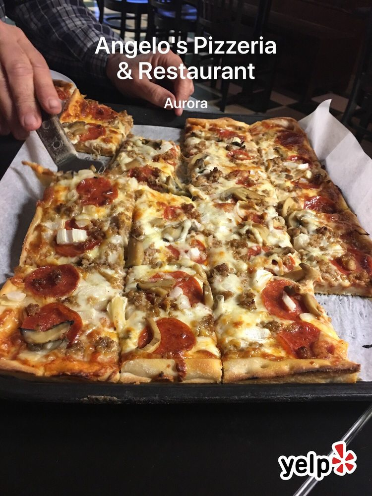 Angelo's Pizzeria & Restaurant: 324 Aurora Commons Cir, Aurora, OH