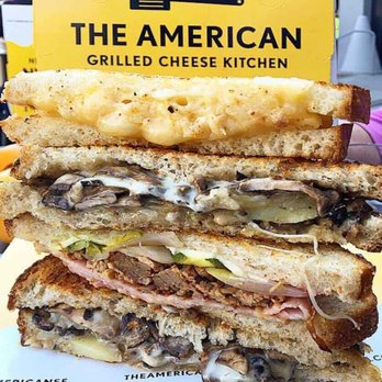 The American Grilled Cheese Kitchen Menu San Francisco Ca
