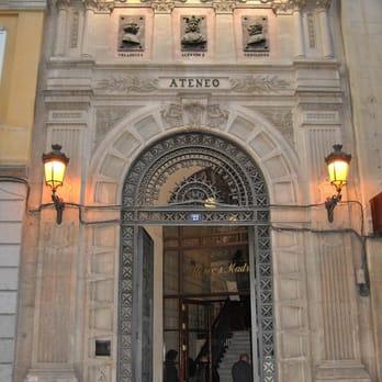 Okafu Calle Prado 10 Of Ateneo De Madrid 10 Rese As Cultura Y Espect Culos
