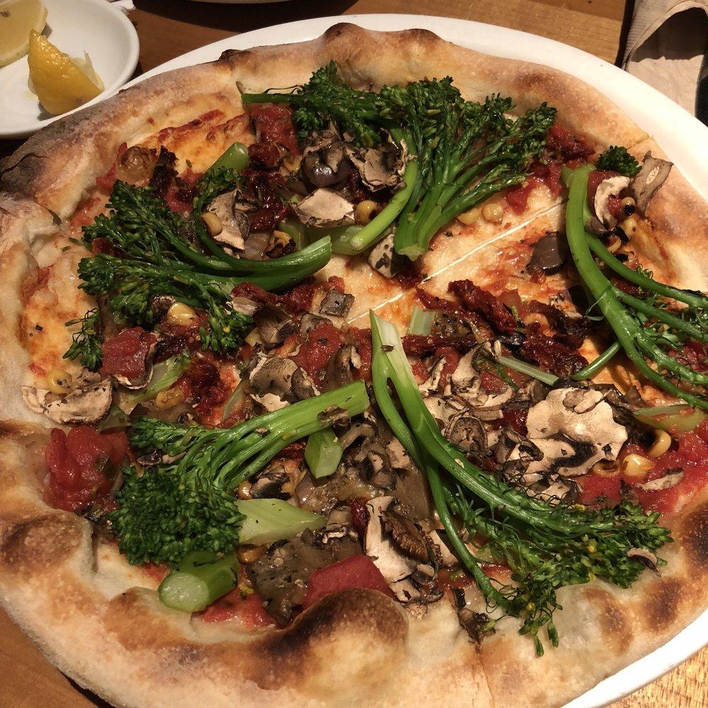 Vegan California Veggie, sub out marinara for neopolitan, no onions ...