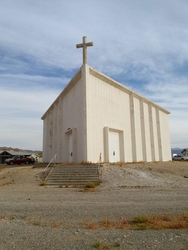 St. Madeleine Sophie Barat Roman Catholic Church: 83395 Trona Rd, Searles Valley, CA