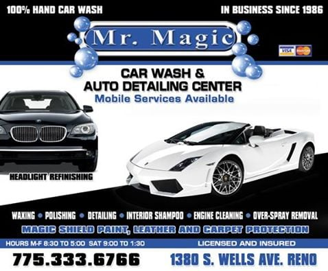 Mr Magic Car Wash & Detail Center