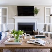 Beach Inspired Living Room Photo Of Larina Kase Wayne Pa United States A Casual Family