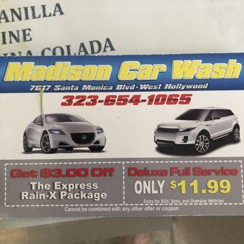 Santa Monica Car Wash Coupon