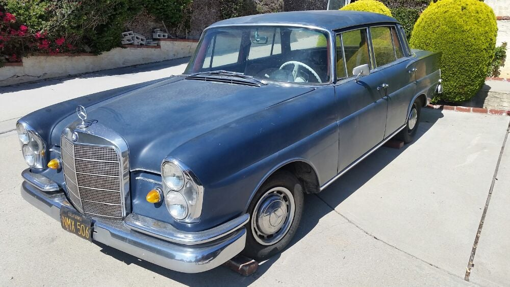 Classic cars, easy. 1964 220 mercedes - Yelp