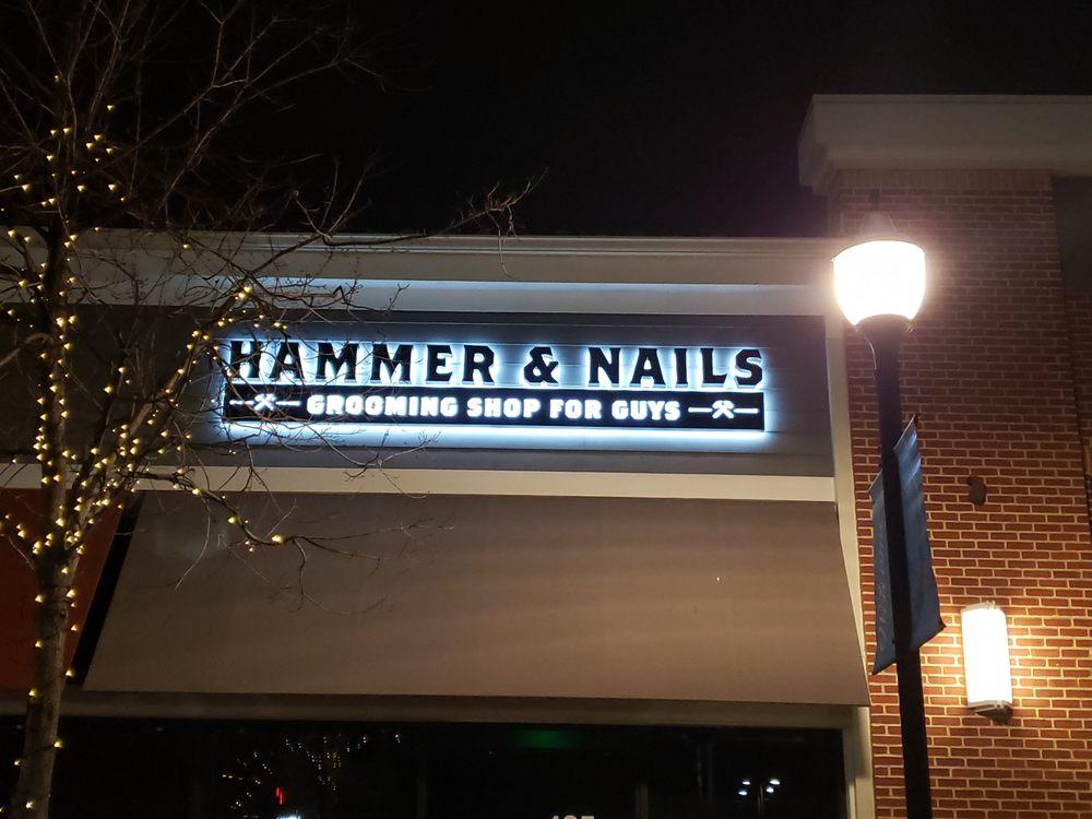 Hammer & Nails Grooming Shop for Guys: 1610 Village Market Blvd SE, Leesburg, VA