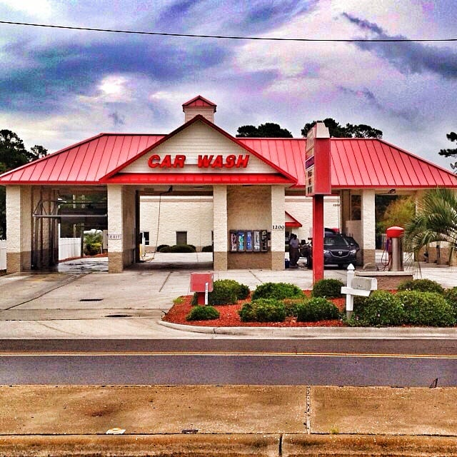 Coastal Carolina Carwash: 1200 N Lake Park Blvd, Carolina Beach, NC