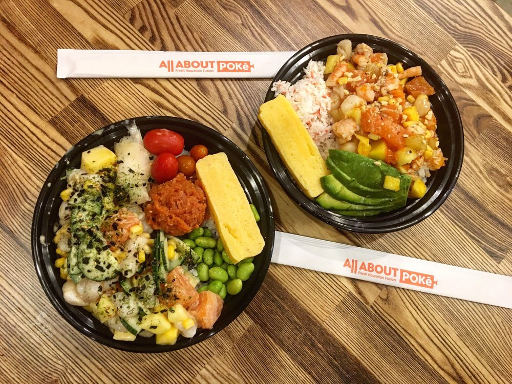 Food from All About Poke