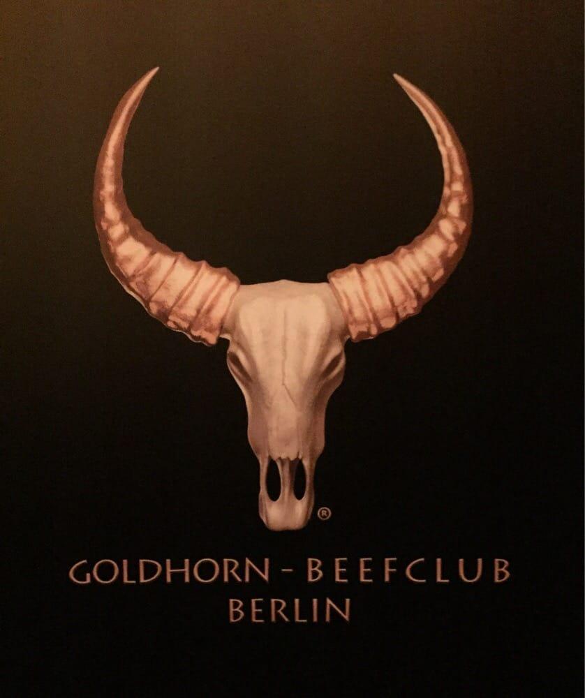 logo goldhorn beefclub in berlin charlottenburg yelp. Black Bedroom Furniture Sets. Home Design Ideas