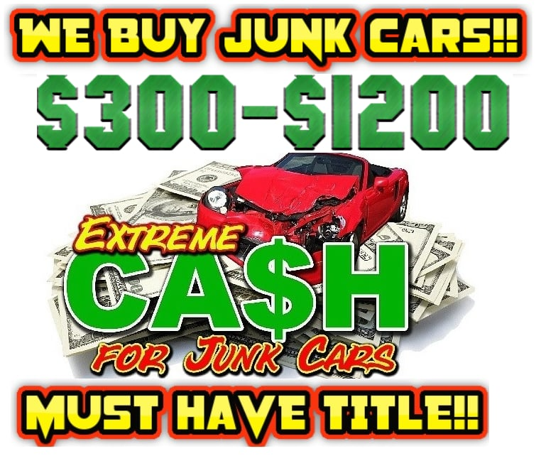 Extreme Cash For Junk Cars - Towing - Houston, TX - Phone Number - Yelp