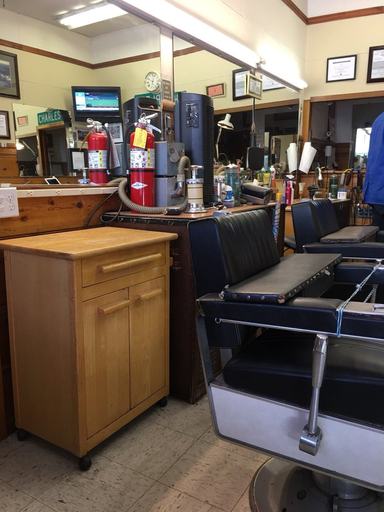 Charles Barber Shoppe: 3107 Scotts Valley Dr, Scotts Valley, CA