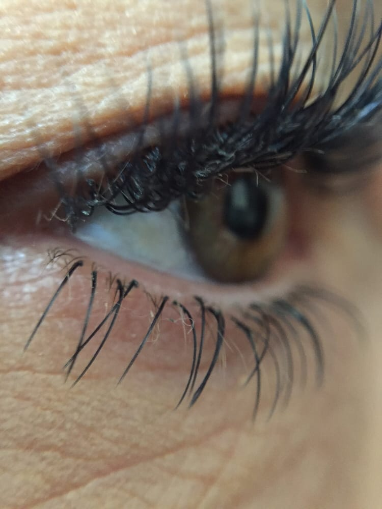 This Is My Upper And Lower Lash Extensions Yelp
