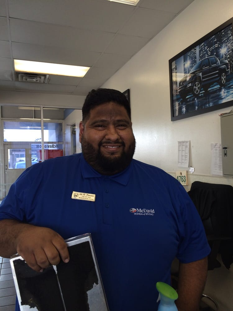 Fabulous david mcdavid irving service advisor ali r for David mcdavid honda of frisco