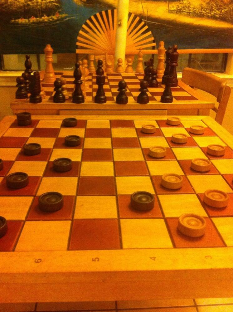 Nice chess table though yelp - Chess nice image ...