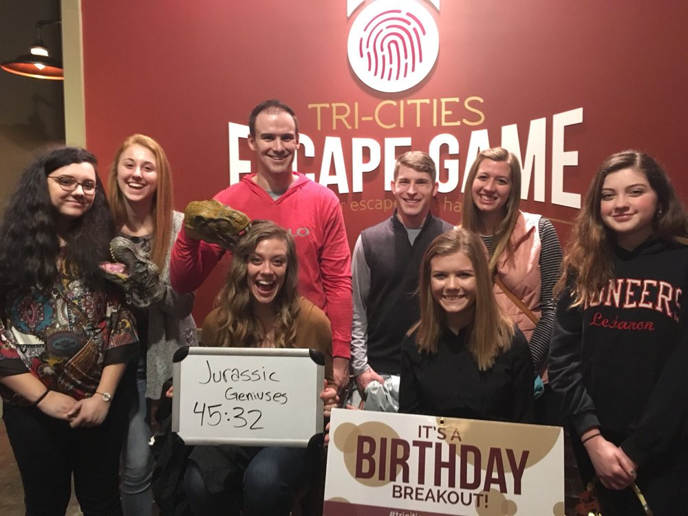 Social Spots from Tri-Cities Escape Game