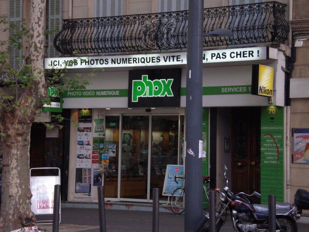 phox magasin de photo 70 bd chave le camas marseille num ro de t l phone yelp. Black Bedroom Furniture Sets. Home Design Ideas